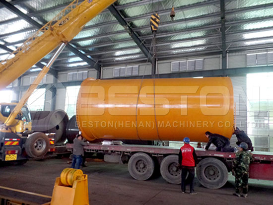 Tyre to Oil Machine to Indonesia