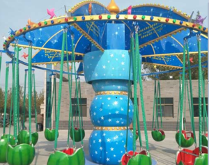 fruit themed swing rides