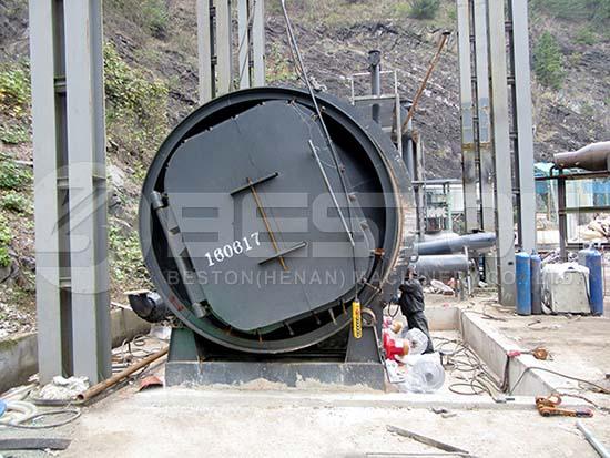 Plastic Pyrolysis Machine in Korea